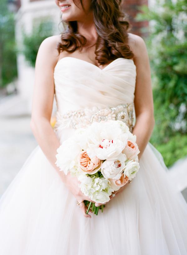 blush and gold wedding at Harwelden mansion 14