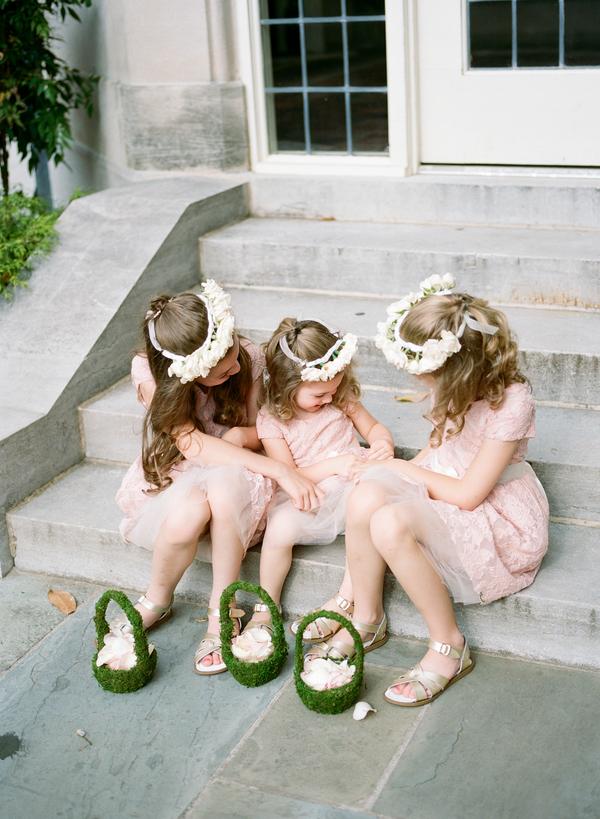 blush and gold wedding at Harwelden mansion 18