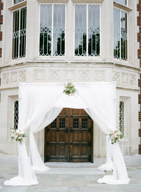 blush and gold wedding at Harwelden mansion 20