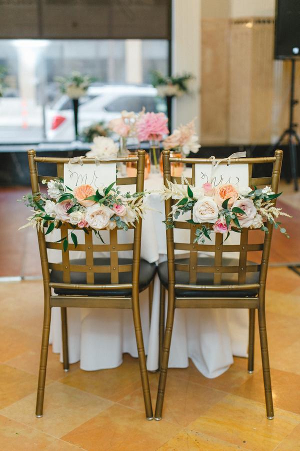 blush and gold wedding at Harwelden mansion 27