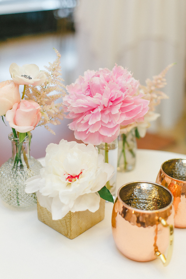 blush and gold wedding at Harwelden mansion 28