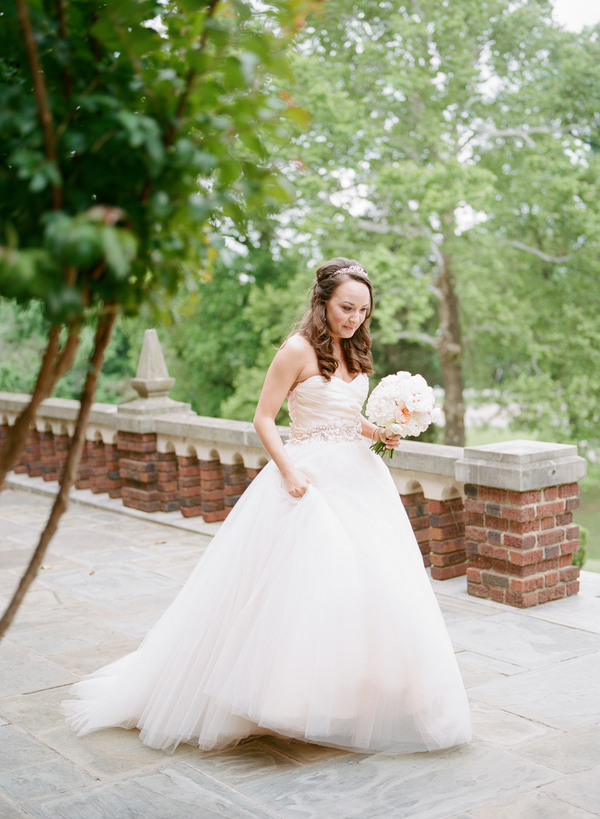 blush and gold wedding at Harwelden mansion 5