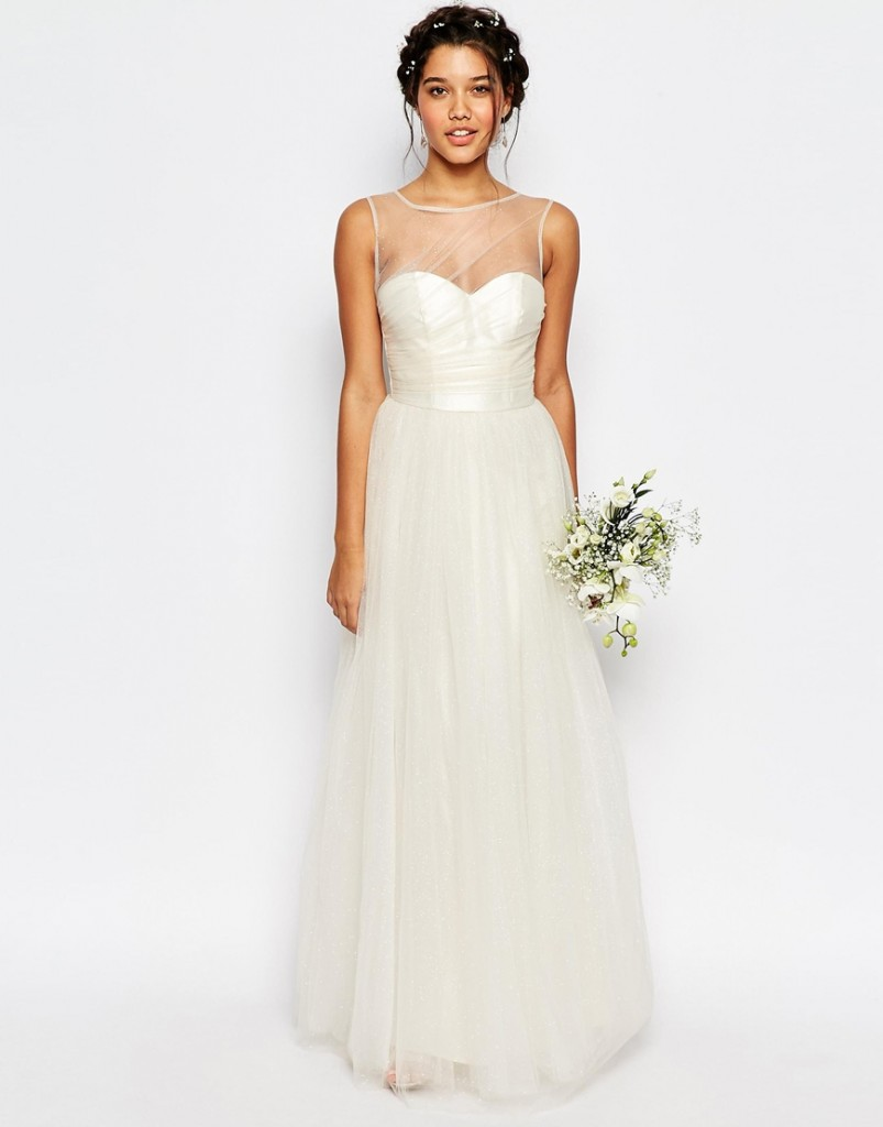 fairytale wedding gown- asos