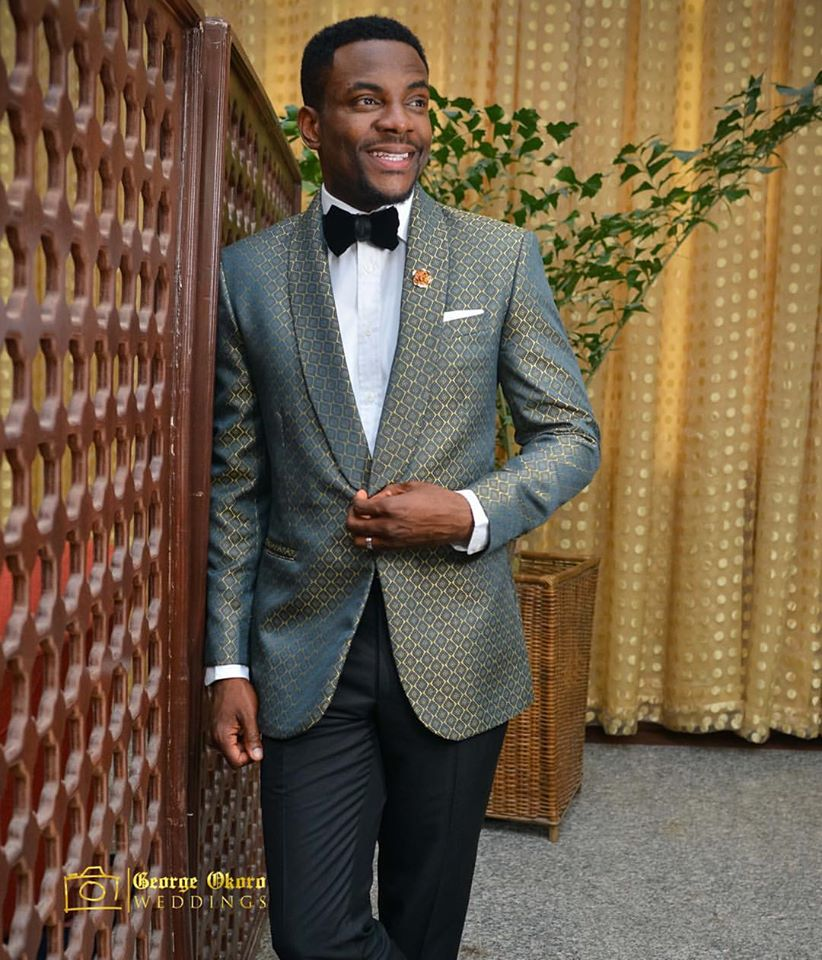 groom outfit change_george okoro weddings