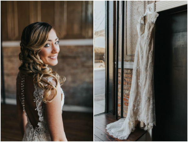 sweet styled wedding shoot