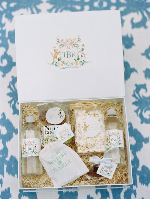 welcome gift box by a signature welcome
