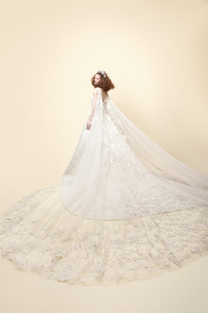 whimsical wedding dresses from rami kadi ss 2016 18