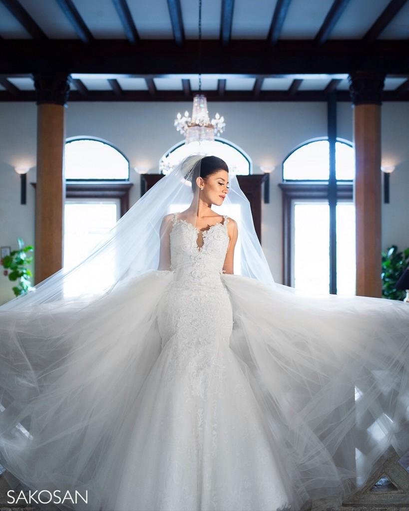 Karoza Overskirt Wedding Dress
