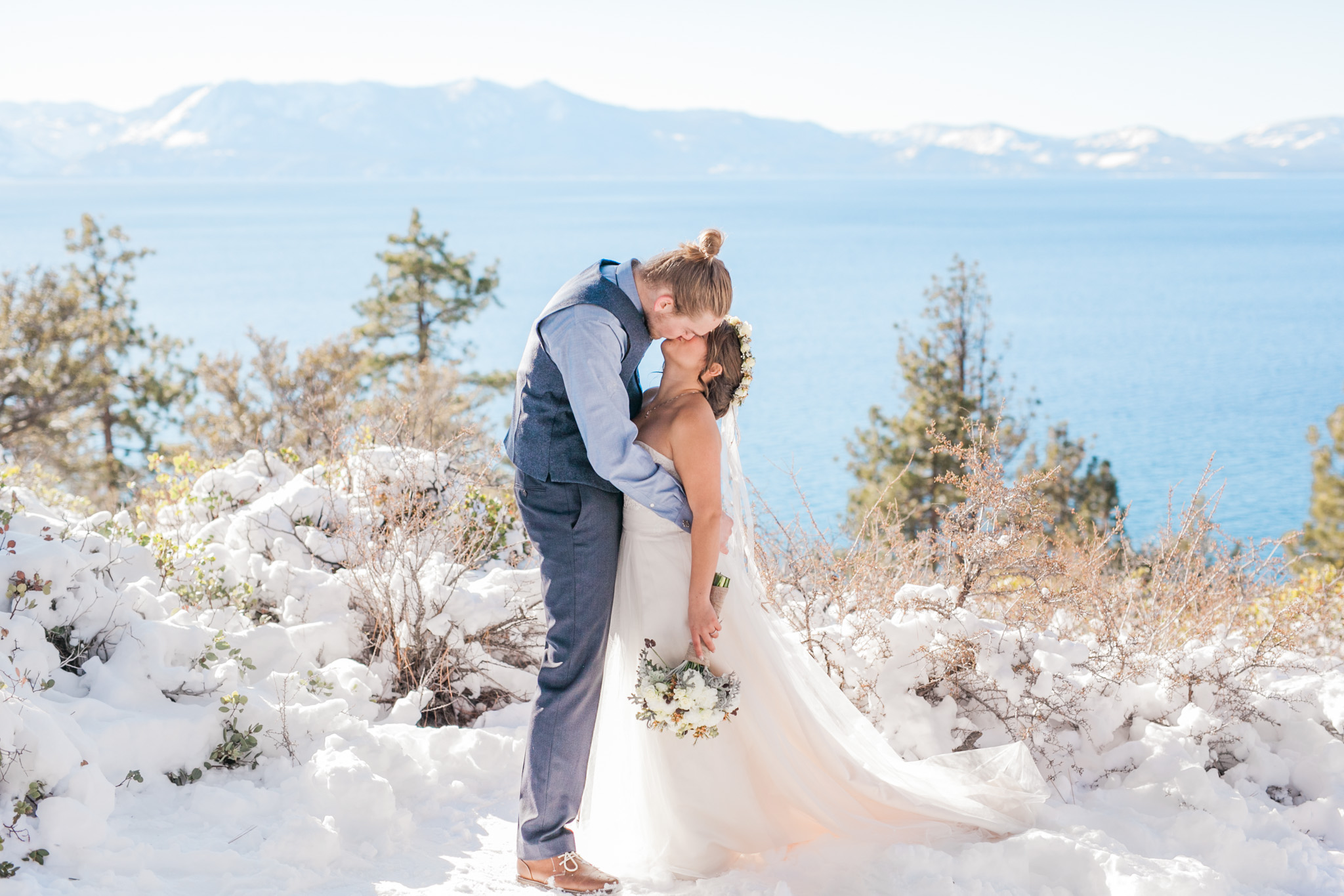 Lake Tahoe Wedding Photographer - Winter Wedding-102