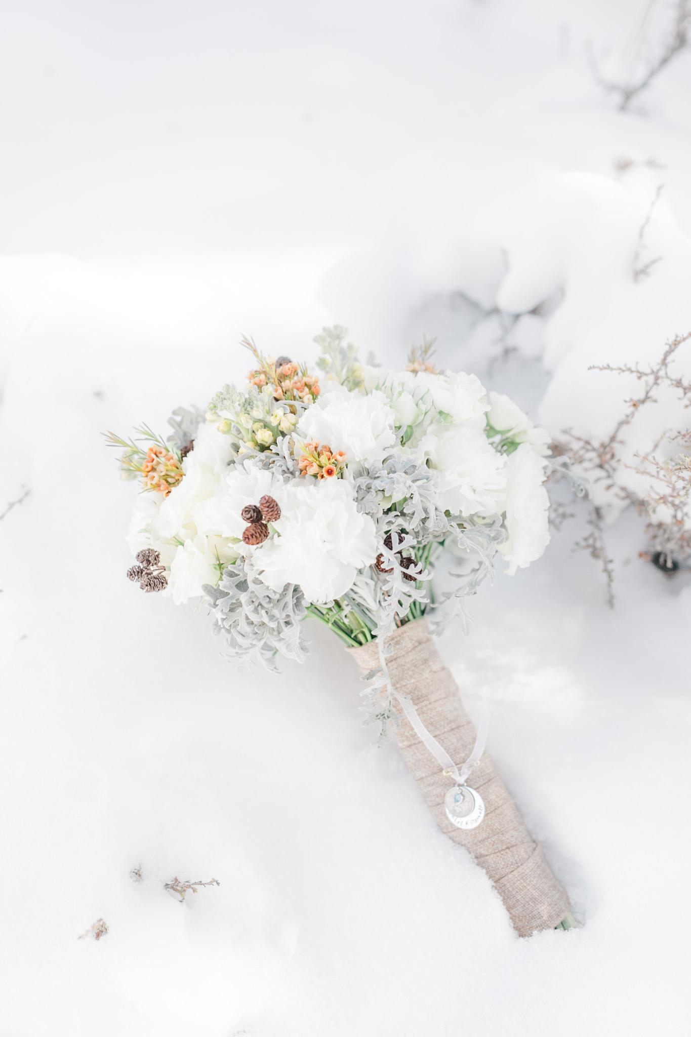Lake Tahoe Wedding Photographer - Winter Wedding-103