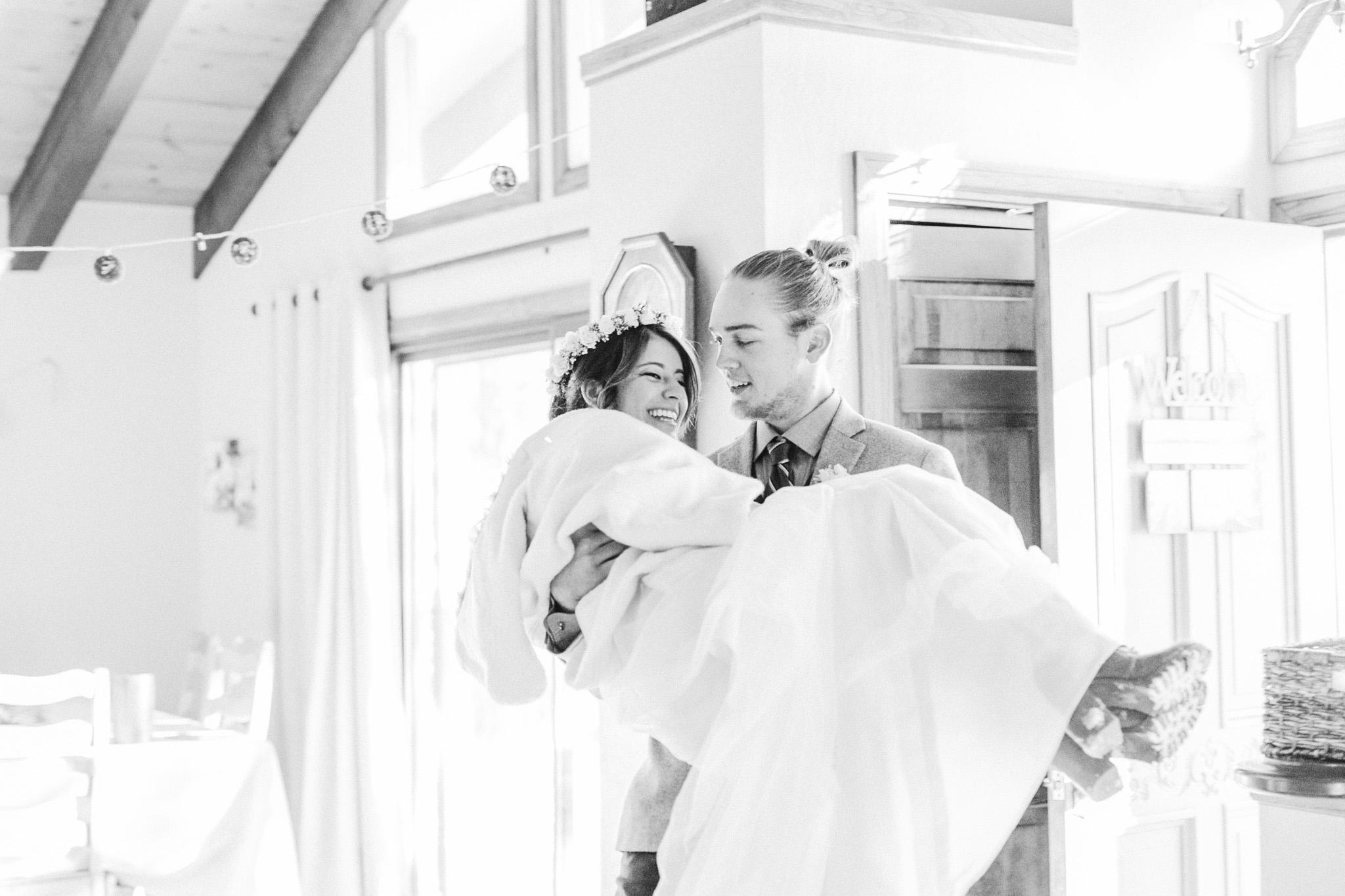 Lake Tahoe Wedding Photographer - Winter Wedding-108