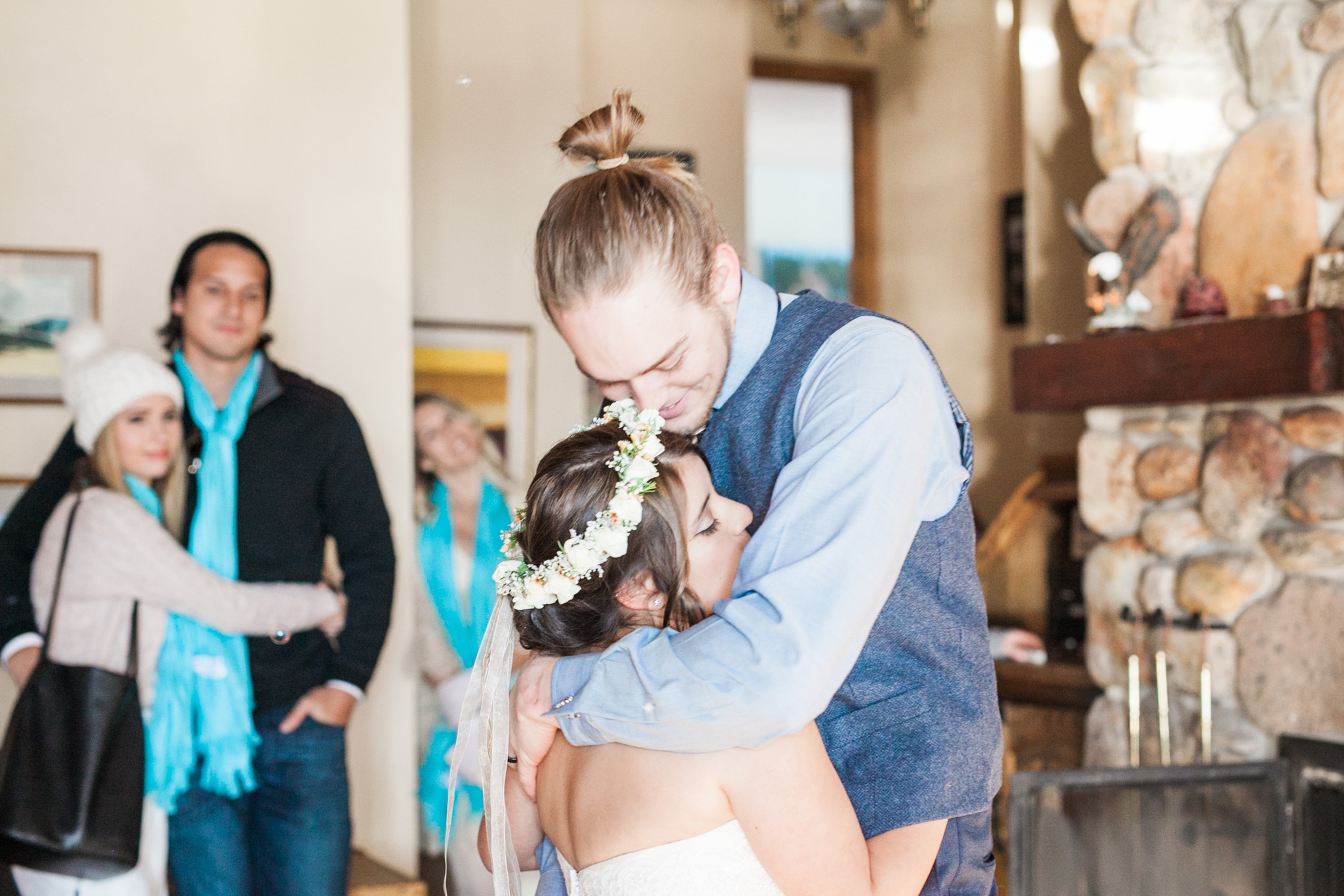 Lake Tahoe Wedding Photographer - Winter Wedding-109