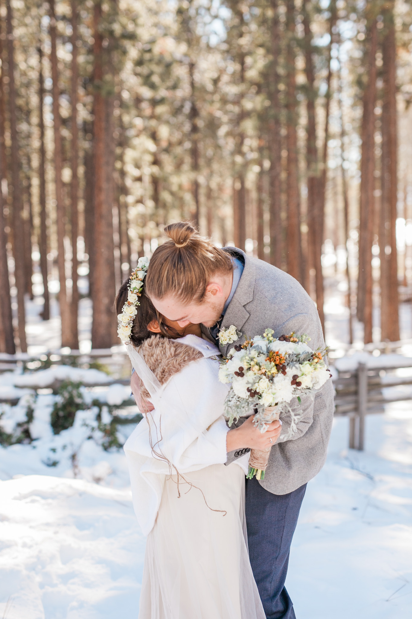 Lake Tahoe Wedding Photographer - Winter Wedding-44