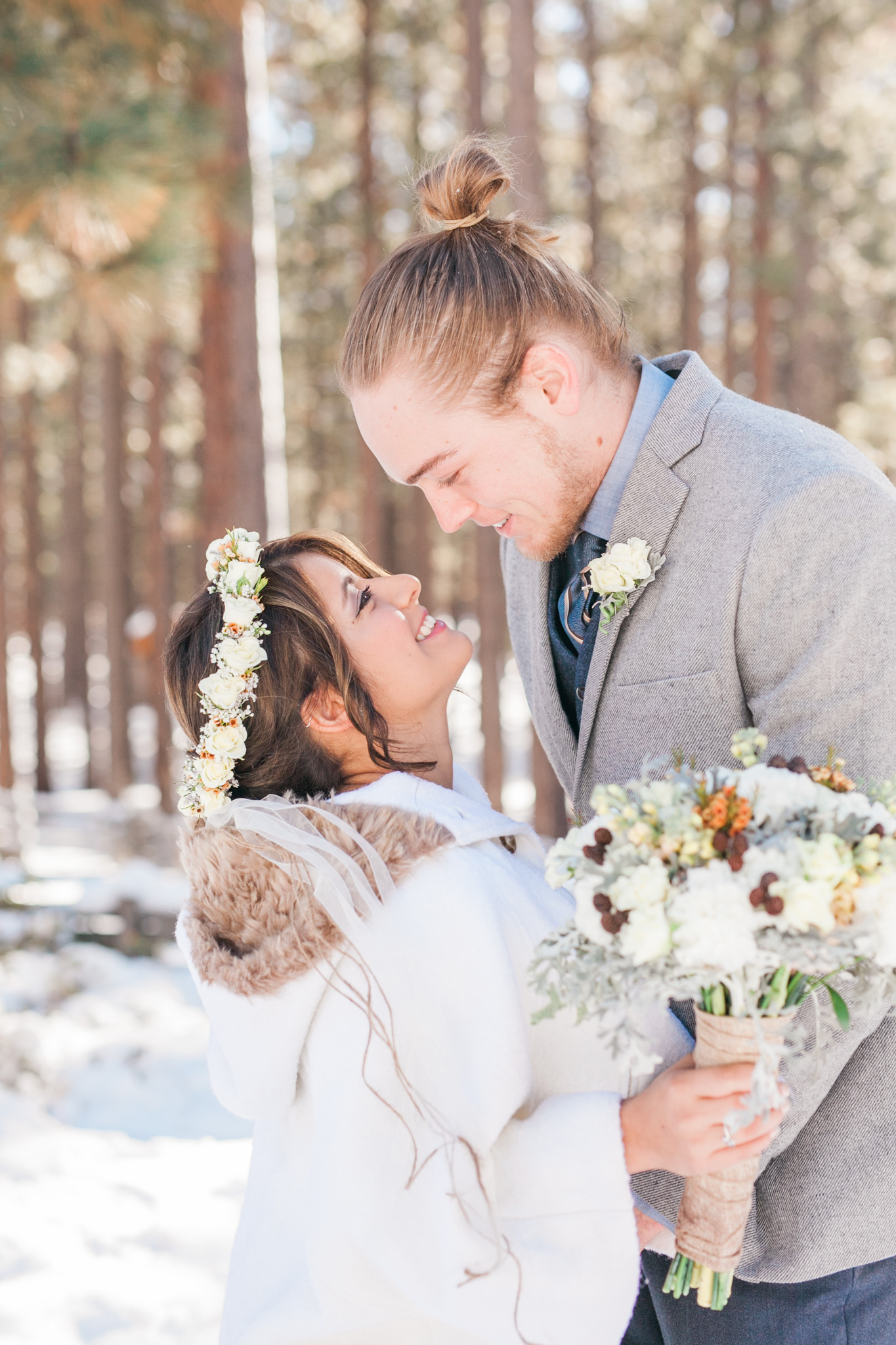 Lake Tahoe Wedding Photographer - Winter Wedding-49