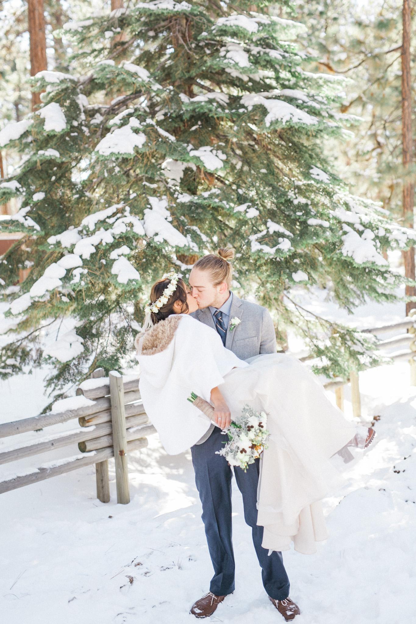 Lake Tahoe Wedding Photographer - Winter Wedding-61