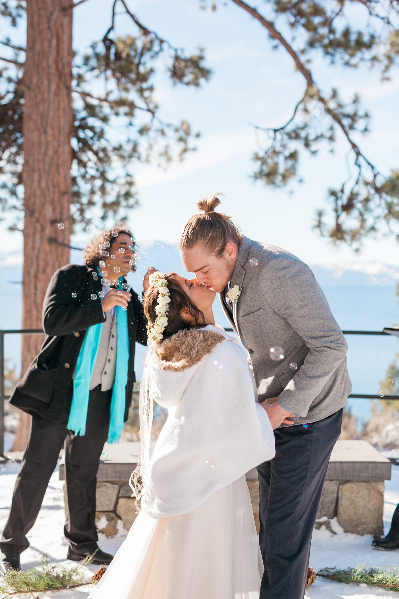 Lake Tahoe Wedding Photographer - Winter Wedding-81