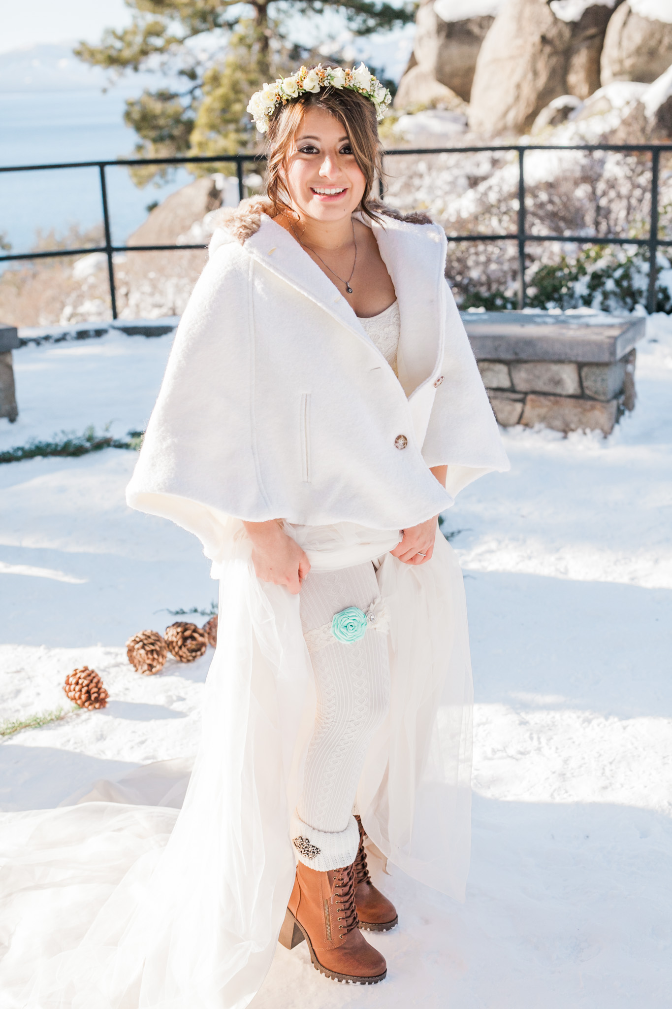 Lake Tahoe Wedding Photographer - Winter Wedding-87