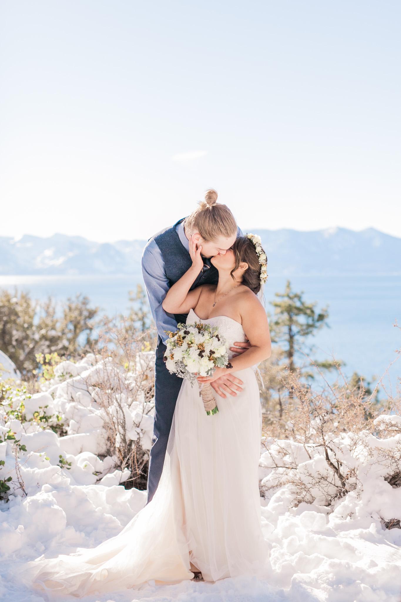 Lake Tahoe Wedding Photographer - Winter Wedding-92