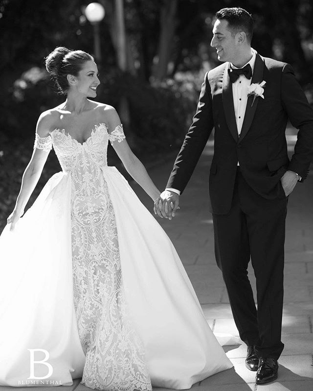 Steven Khalil Overskirt Wedding Dress