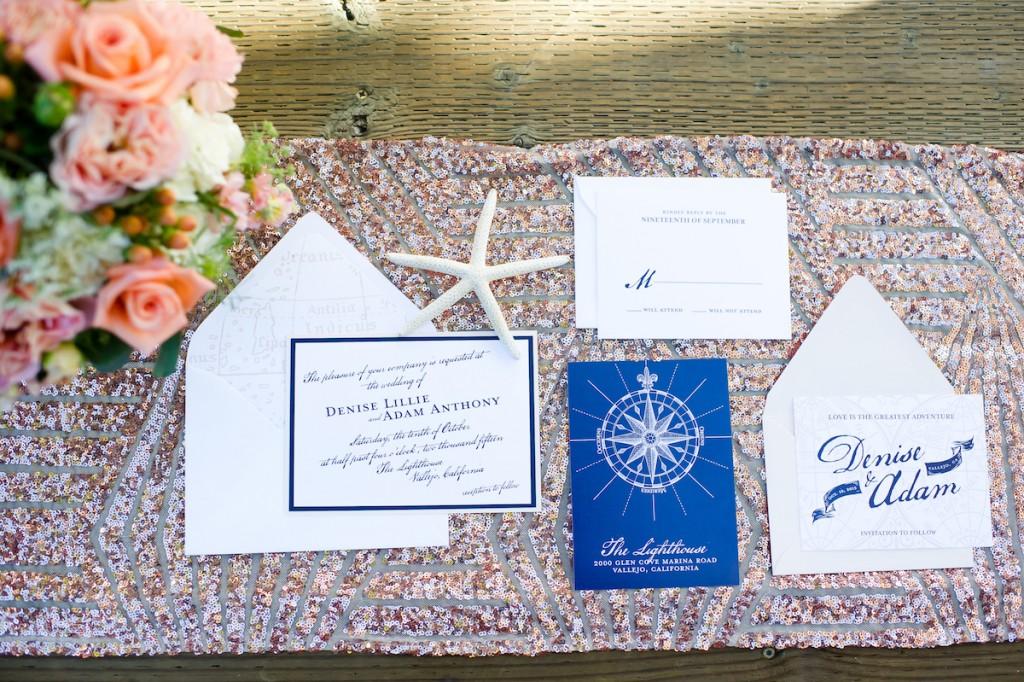 Nautical Lighthouse Wedding Inspiration Shoot (1)