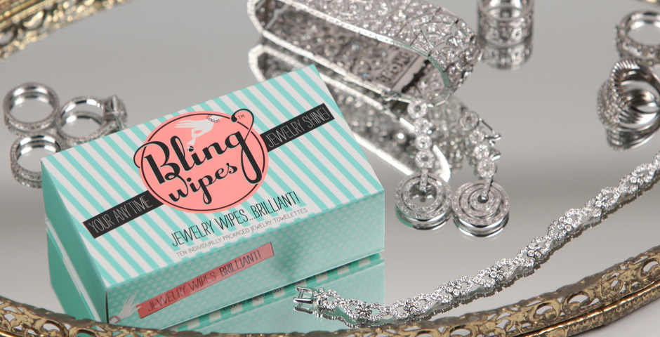 bling wipes engagement ring cleaner