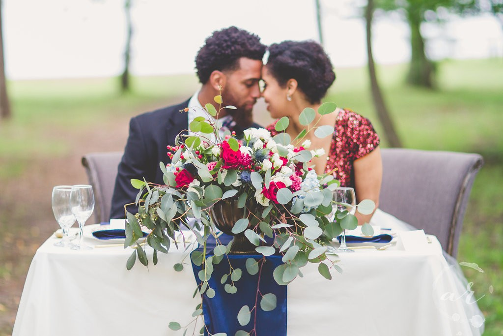 Red White and Blue Americana Styled Shoot in DC