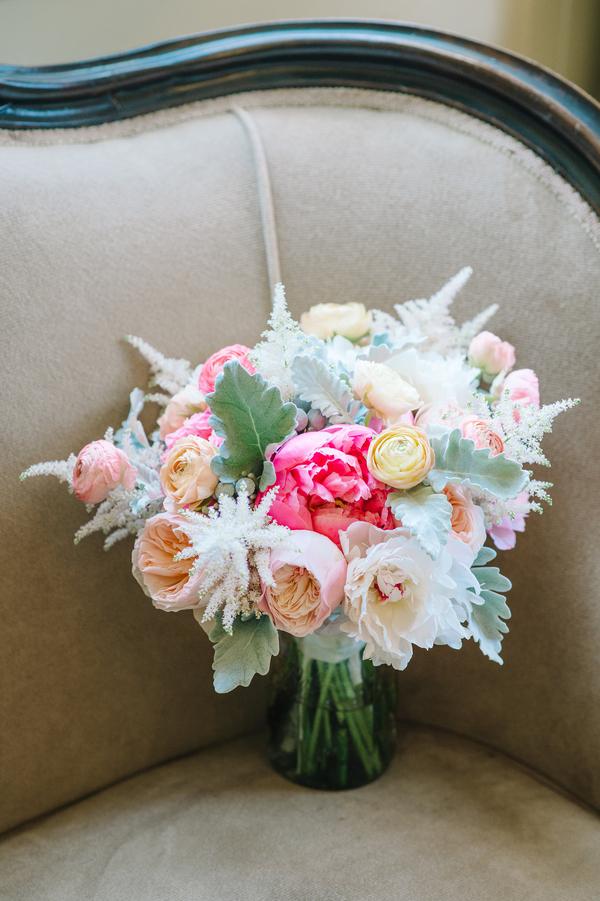 Amazing wedding bouquet Aaron and Jillian Photography
