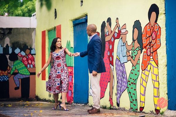 Bahamas Inspired Engagement Session-16