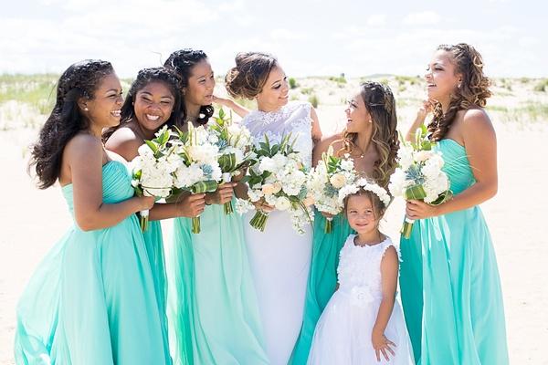 Light Blue Bridesmaid Dresses