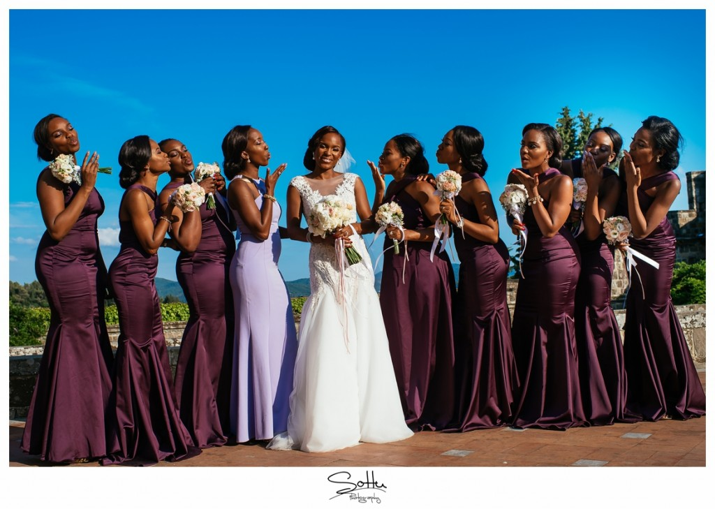 Romantic Florence Italy Wedding_ Yewande and Ademola 77