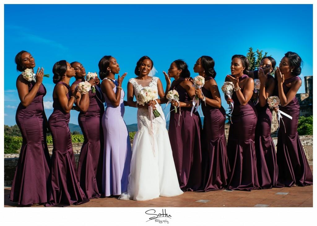 Romantic Florence Italy Wedding_ Yewande and Ademola 77