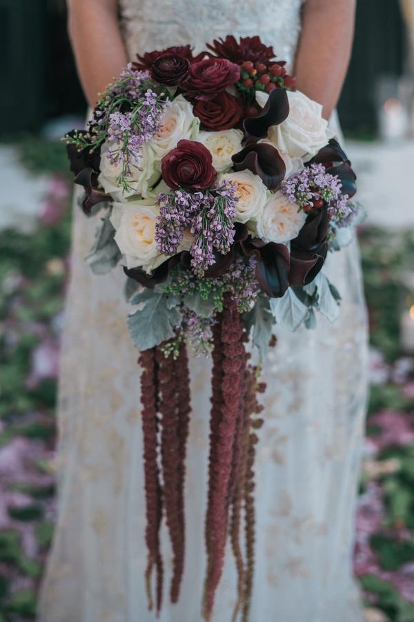 multi garden bouquet by Lee Forrest Designs