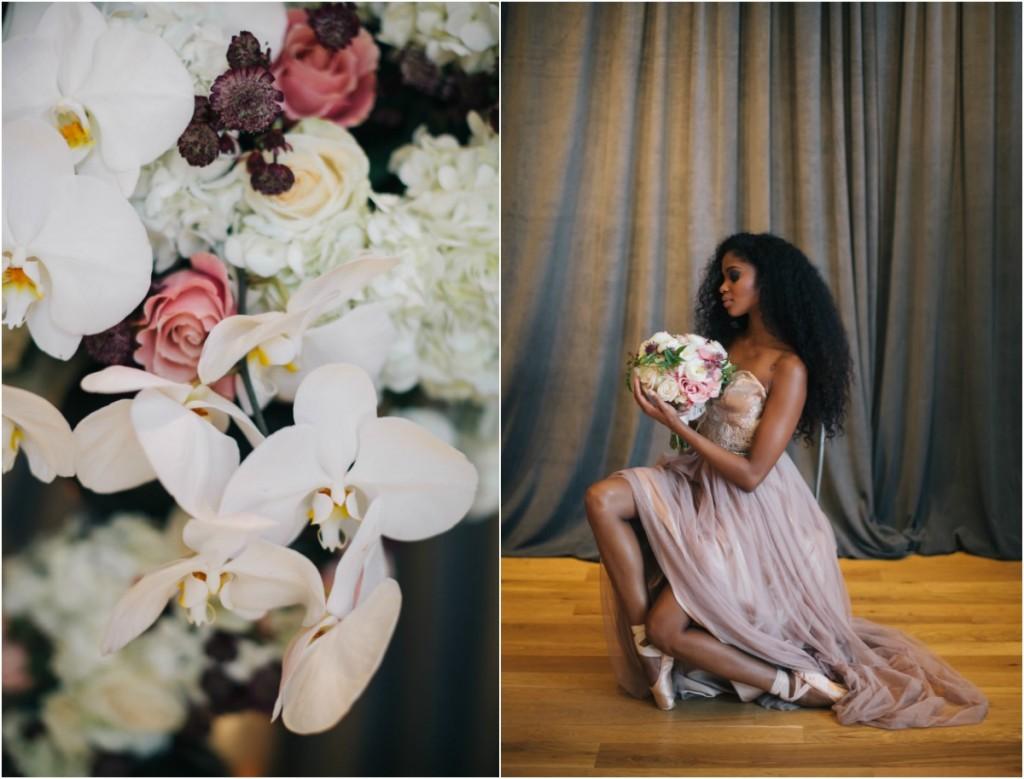 Misty Copeland inspired wedding shoot