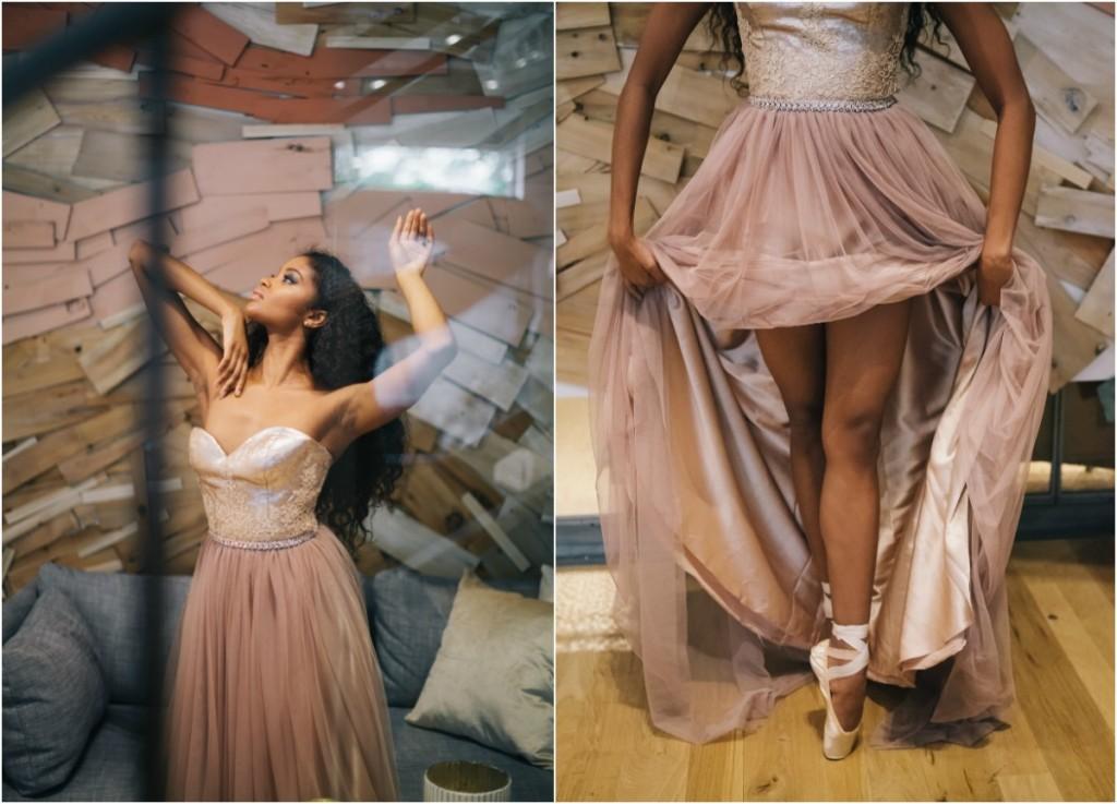 ballerina bridal inspiration inspired by misty copeland
