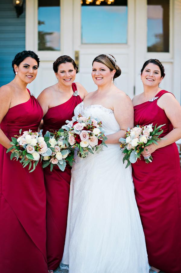 red gold wedding-8