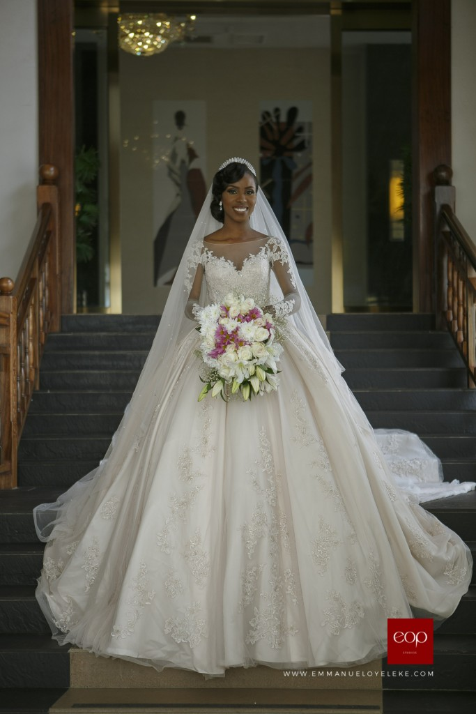 15 pretty perfect nigerian bridal designers aisle perfect for Custom wedding dress designers