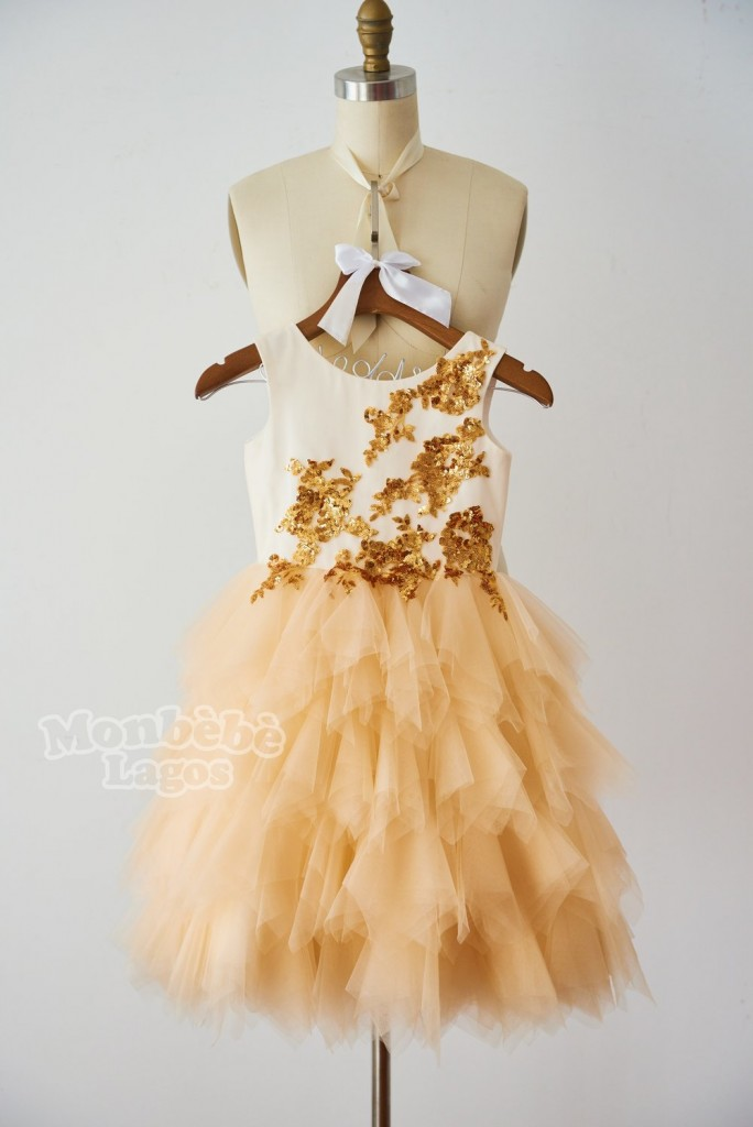 orange-gold-sequin-champagne-tulle-flowergirl-dress