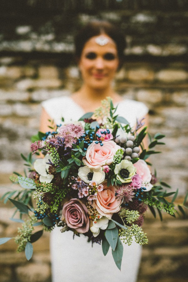 fall-bouquet_roses-eucalyptus-wax-flower-and-berries