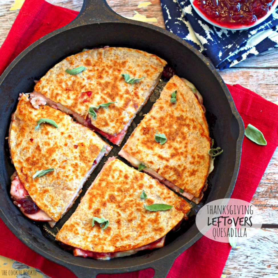 9-thanksgiving-leftover-quesadilla