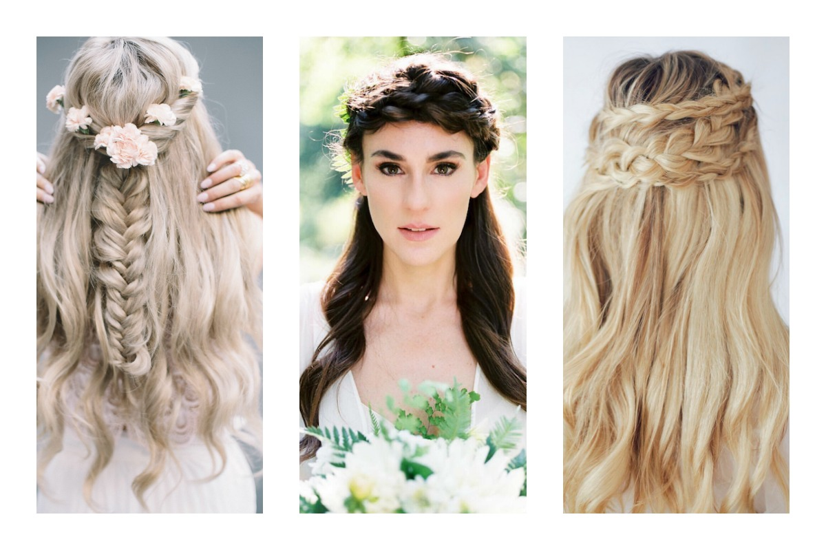 15 pretty perfect braided bridal hairstyles - aisle perfect