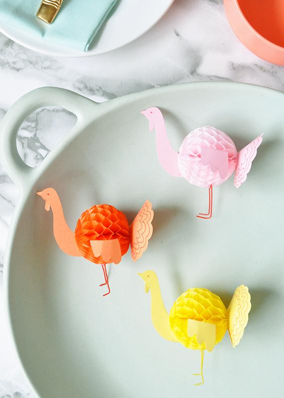 diy-honeycomb-paper-turkeys