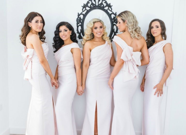 bow-bridesmaids-dresses