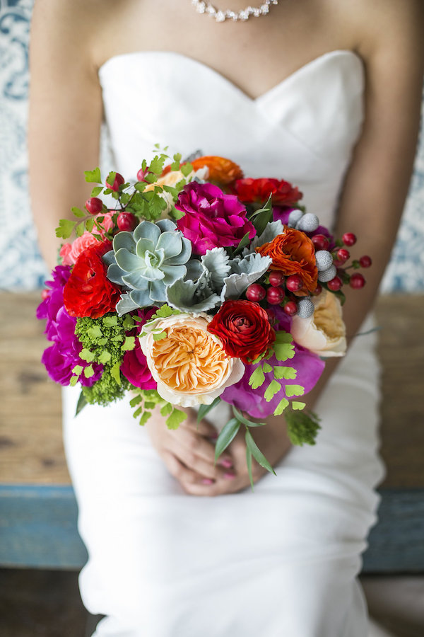 multi color bouquet
