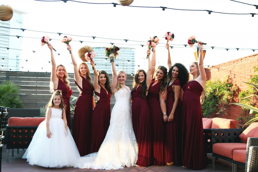 marsala-bridesmaids-convertible-dresses