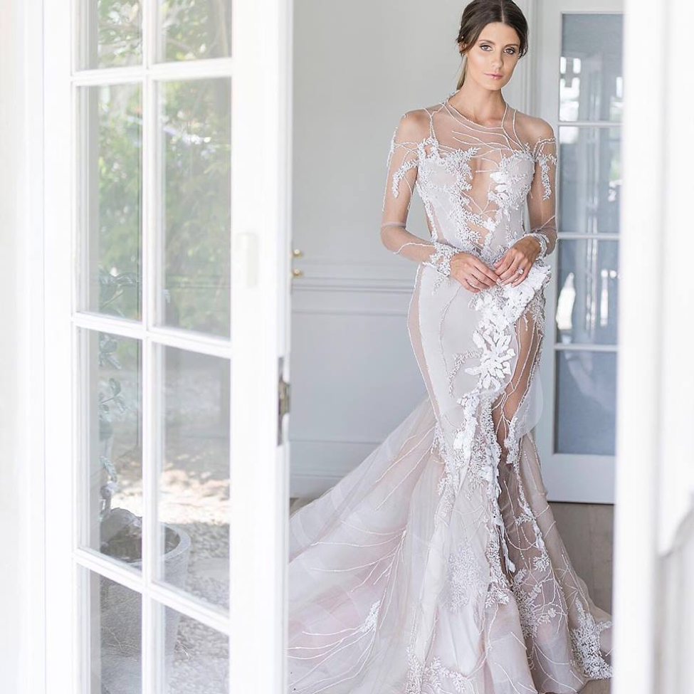 25 pretty perfect australian wedding dress designers for Custom wedding dress designers