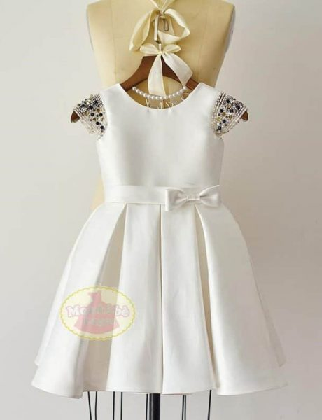 embellished-cap-sleeve-flower-girl-dress