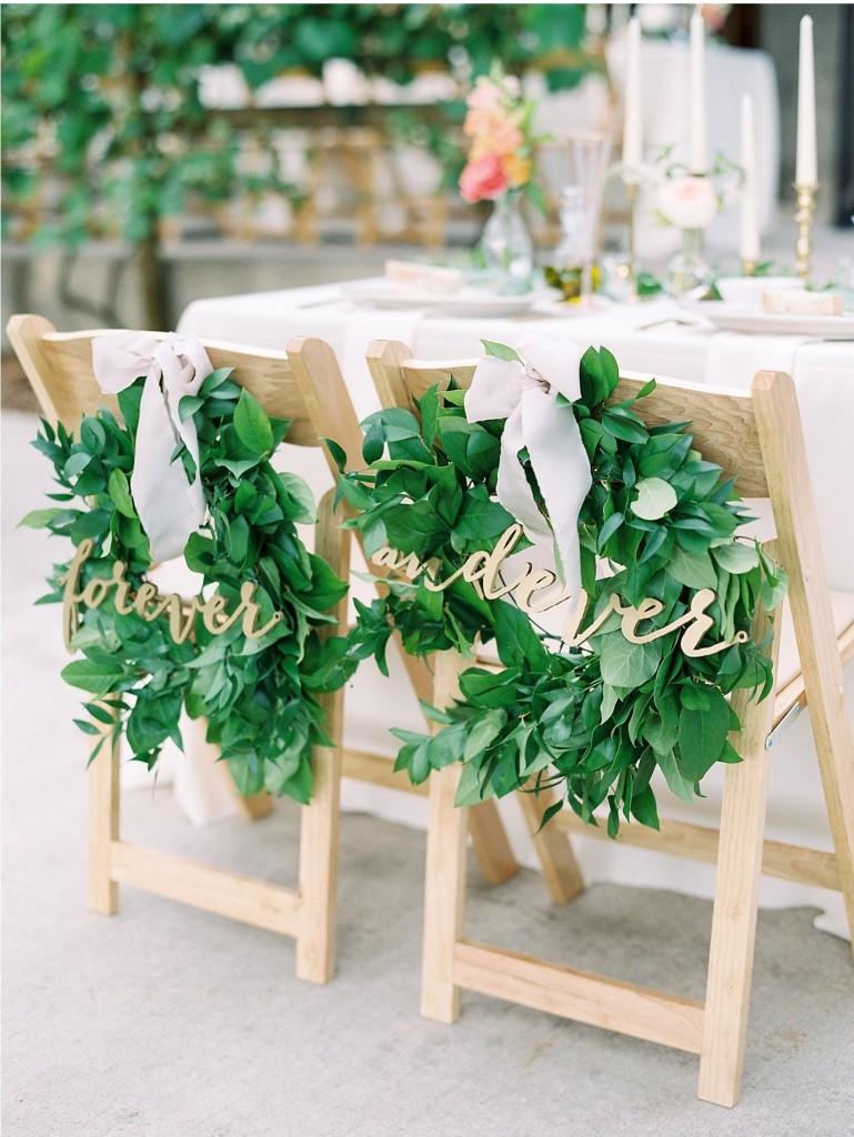 greenery-chair-decor