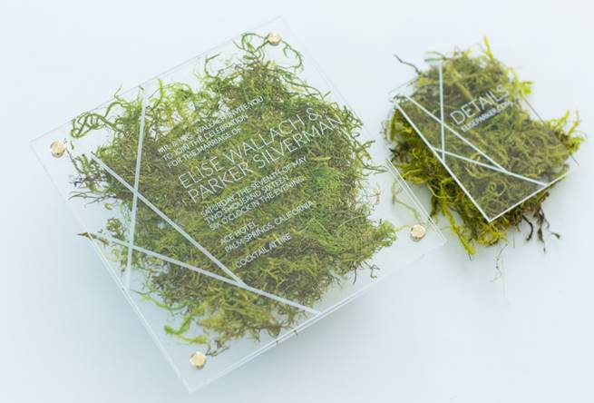 greenery-wedding-invitation-with-acrylic