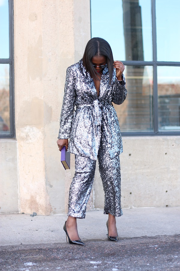 silver-glitter-pantsuit-holiday-wedding-guest