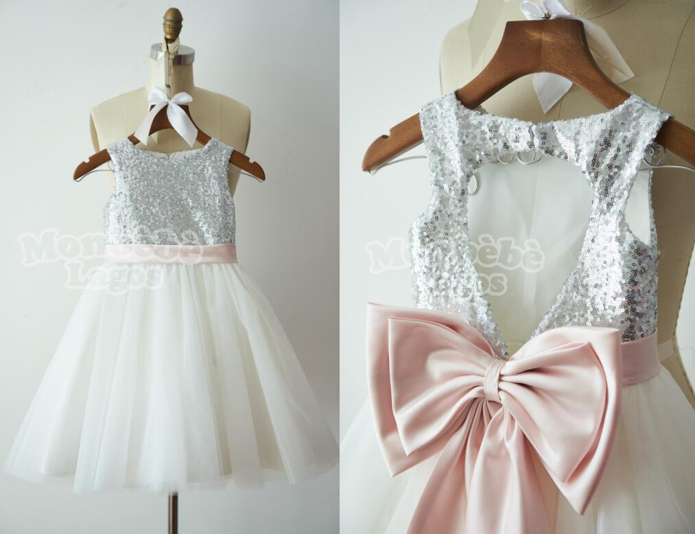 1ad4fcc019f Rose Gold And Blush Flower Girl Dress - Data Dynamic AG